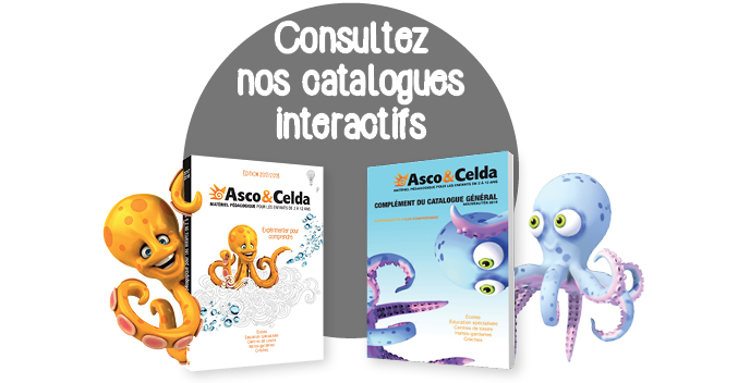 Nos catalogues interactifs