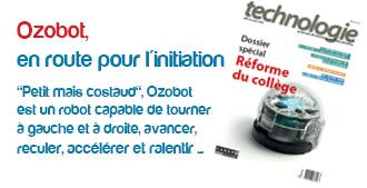 Ozobot, en route pour l'initiation