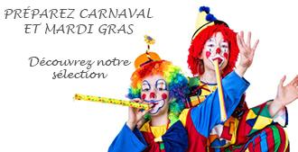 Préparez Carnaval et Mardi gras