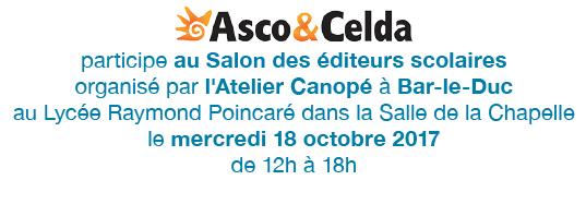 Salon des éditeurs scolaires le 18 octobre 2017 à Bar-le-Duc