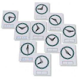 Horloges en plastique souple incassable