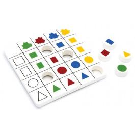 A - Formes et couleurs 1