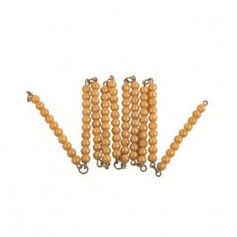 A - 1 chaîne de 100 perles