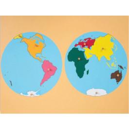 A - Les continents
