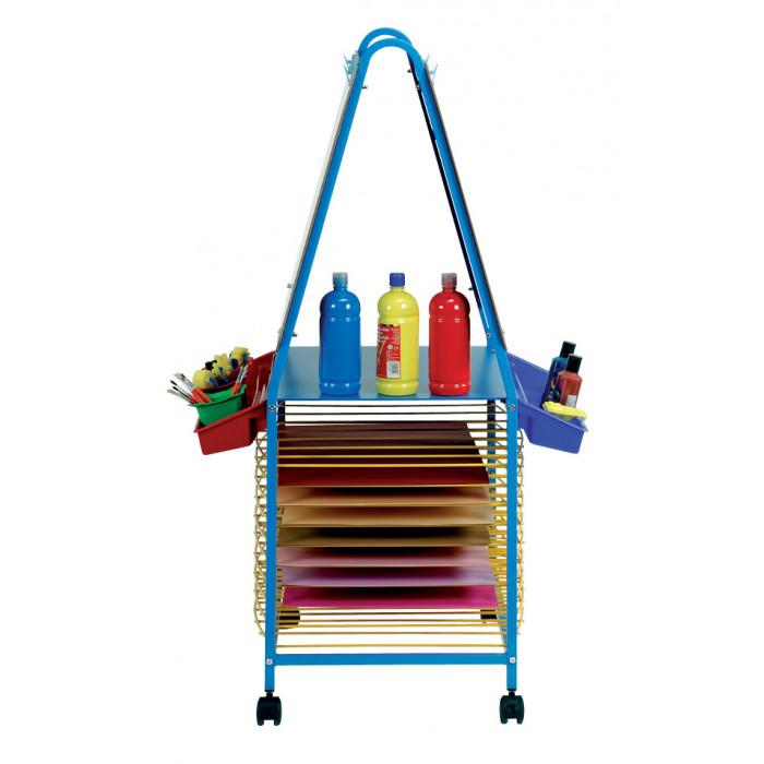 Chevalet de peinture double mobilier am nagement de la for Chevalet peinture
