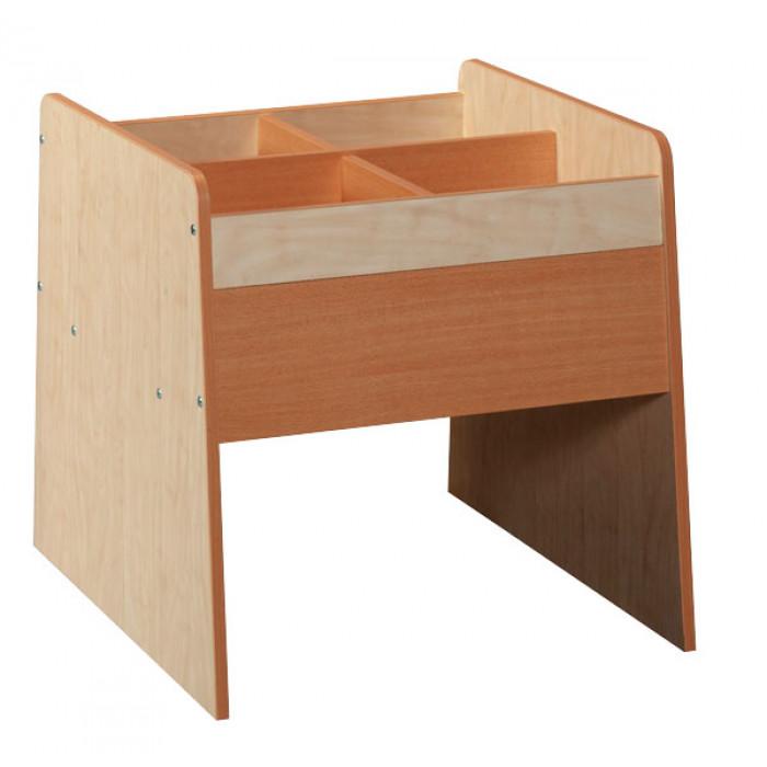 bac livres 4 cases asco celda. Black Bedroom Furniture Sets. Home Design Ideas