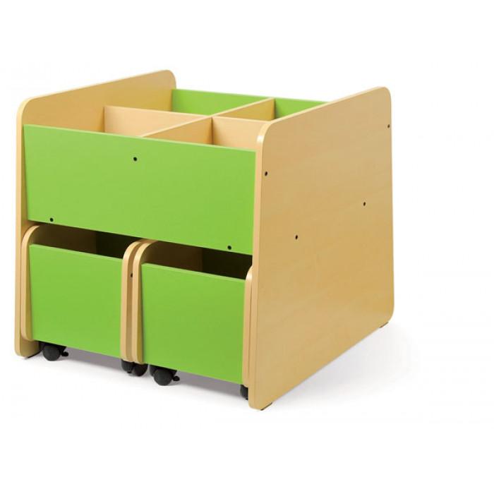 bac livres 4 cases coin lecture am nagement de la classe exclusivit s. Black Bedroom Furniture Sets. Home Design Ideas