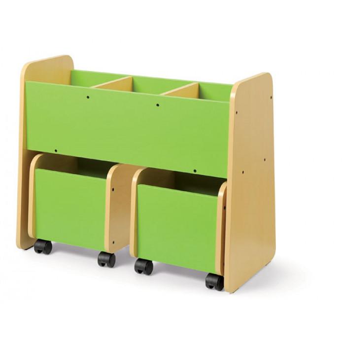 bac livres 3 cases coin lecture am nagement de la classe exclusivit s. Black Bedroom Furniture Sets. Home Design Ideas