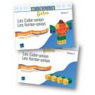 """Bibliofiches """"Les Cube-union, Les Forme-union"""""""