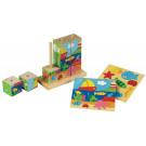 Puzzle cubes : la mer