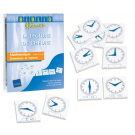 "Bibliothème ""La lecture de l'heure"" + 10 horloges de manipulation"