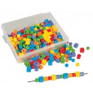 Perles plastique assorties