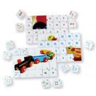 Puzzles mathématiques : comptage jusqu'à 12