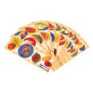 Cartes en plastique épais pour une utilisation intensive en collectivité