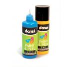 """""""Paint & Peel"""" : peinture repositionnable les 7 teintes + contour noir en 80 ml"""