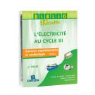 """Bibliothème """"L'électricité au Cycle 3"""""""