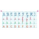 La frise alphabet