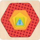 Encastrement multi-niveaux Formes géométriques