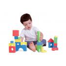 30 blocs texturés en mousse