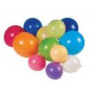 100 ballons de baudruche multicolores