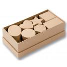 15 boîtes en carton
