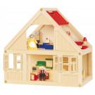 Maison de poupée équipée