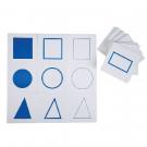 Cartes du Plateau de présentation géométrique