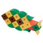 Cube et forme-union couleurs