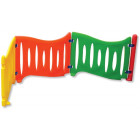 Barrières multicolores