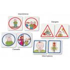 Cartes images : code de vie de la classe