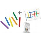 Bâtonnets de couleurs