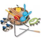 Ensemble de percussions variées