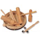 Ensemble de percussions en bois