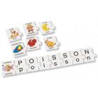 """Maxi puzzle lettres """"Images"""""""