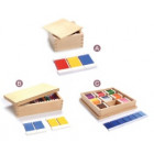 Boîtes des couleurs