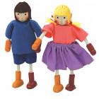 Les 2 figurines