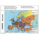 L'Europe : Relief et climats / Population