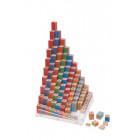 La Table de Pythagore en puzzle 3D + L'assortiment complémentaire