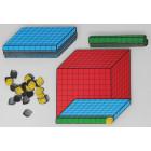 Cubes base 10 magnétiques 3D