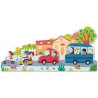 Puzzle sol - Les véhicules