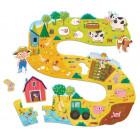 Puzzle sol - La ferme