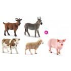 A - 5 animaux de la ferme