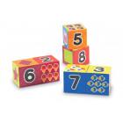Gros cubes chiffres et formes