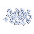 Majuscules cursives magnétiques