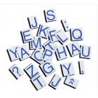"""Majuscules """"script"""" magnétiques"""