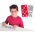 Domino tactilo-visuel