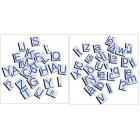 """Majuscules et minuscules """"script"""" - 519 pièces magnétiques"""