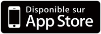 Application disponible sur l'AppStore